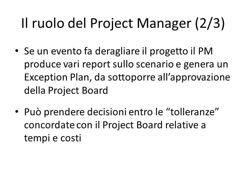 Il ruolo del Project Manager (2/3)