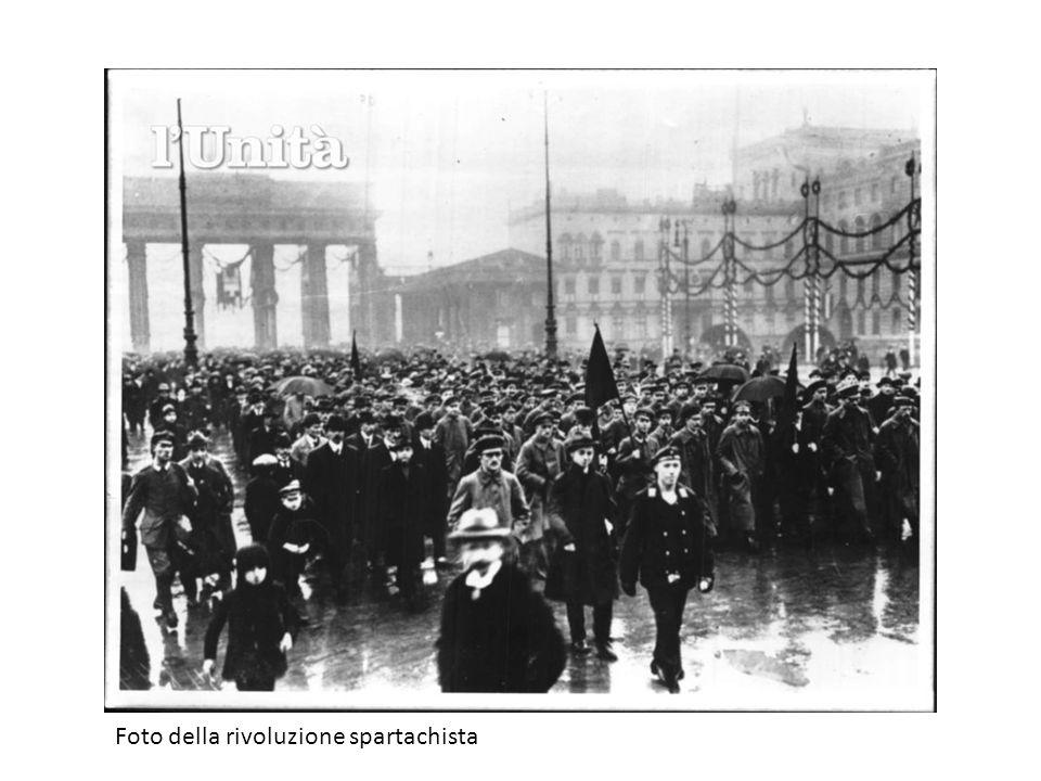 Foto della rivoluzione spartachista
