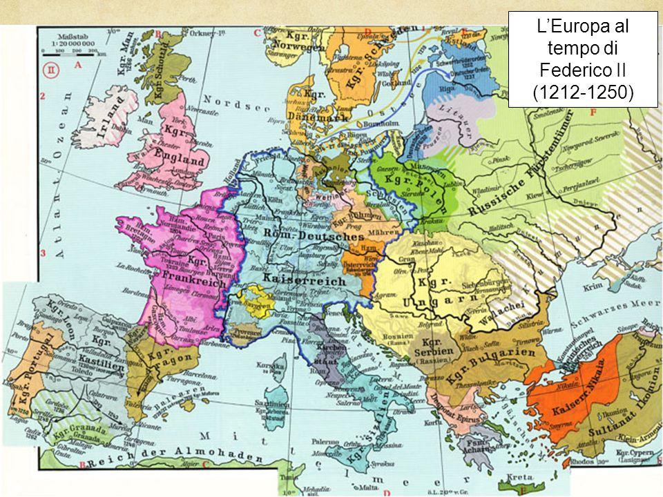 L'Europa al tempo di Federico II (1212-1250)