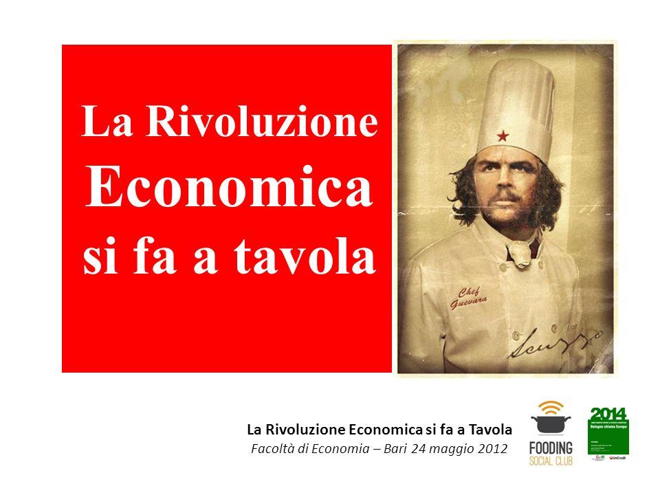 La Rivoluzione Economica si fa a tavola