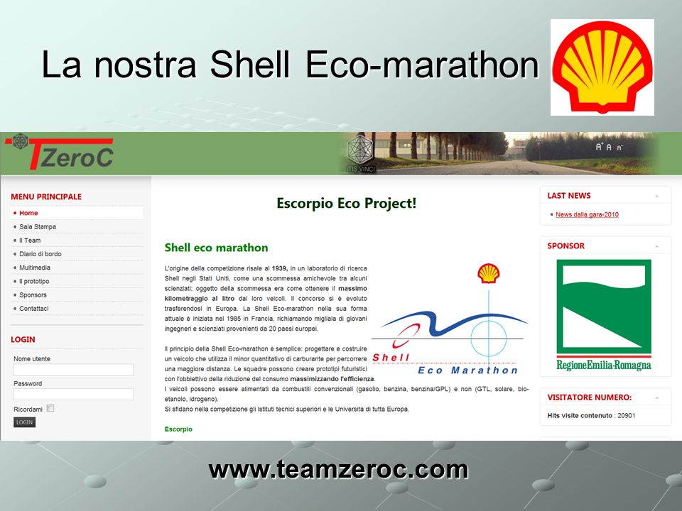 La nostra Shell Eco-marathon
