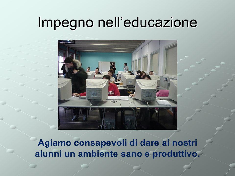 Impegno nell'educazione