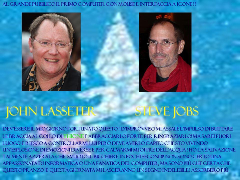 John lasseter steve jobs