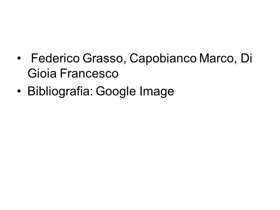 Federico Grasso, Capobianco Marco, Di Gioia Francesco