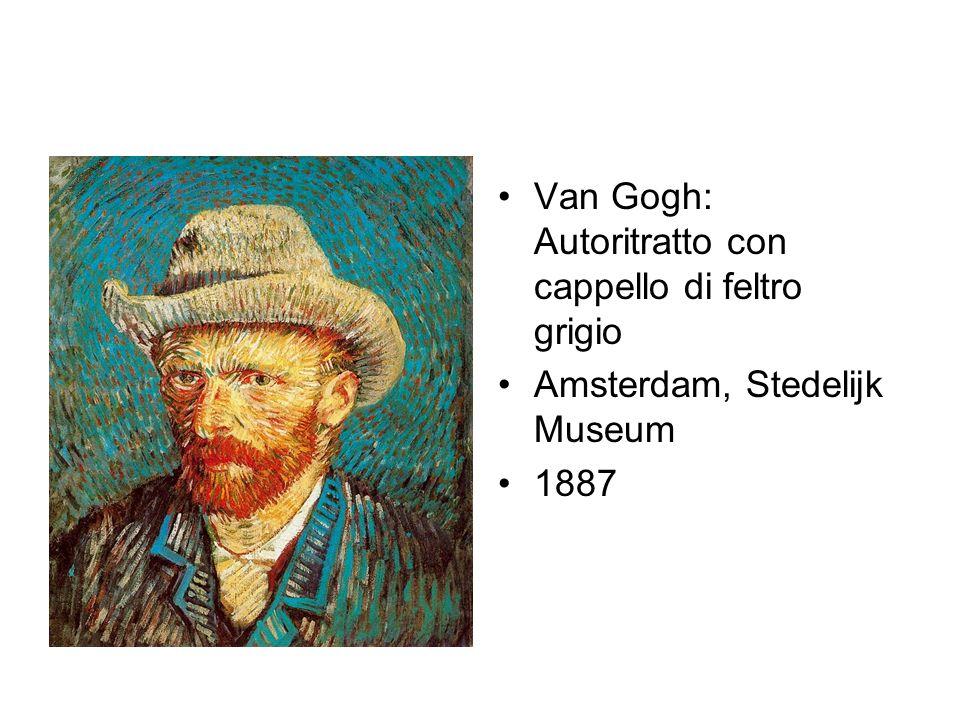 Van Gogh: Autoritratto con cappello di feltro grigio
