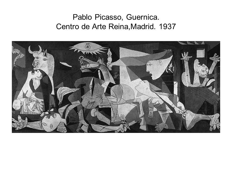 Pablo Picasso, Guernica. Centro de Arte Reina,Madrid. 1937