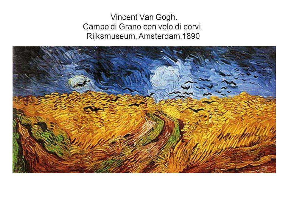 Vincent Van Gogh. Campo di Grano con volo di corvi