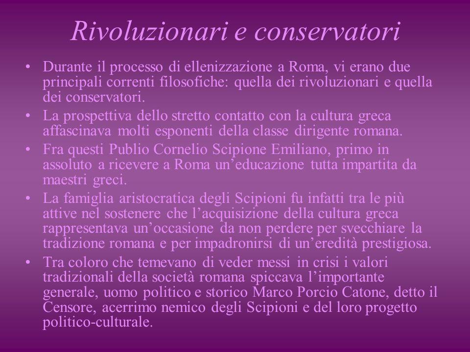 Rivoluzionari e conservatori