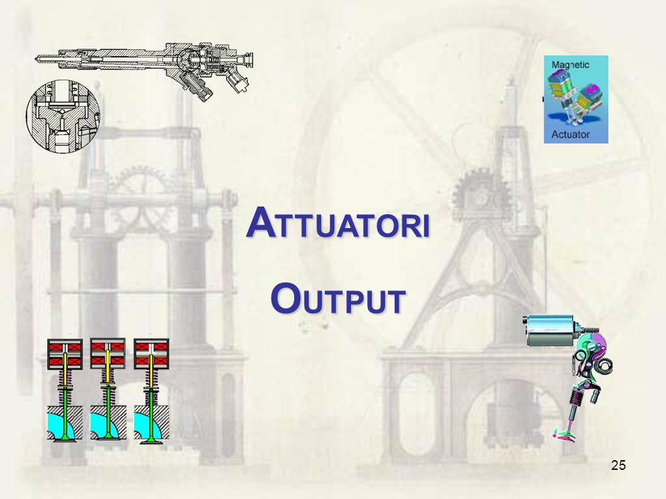 ATTUATORI OUTPUT