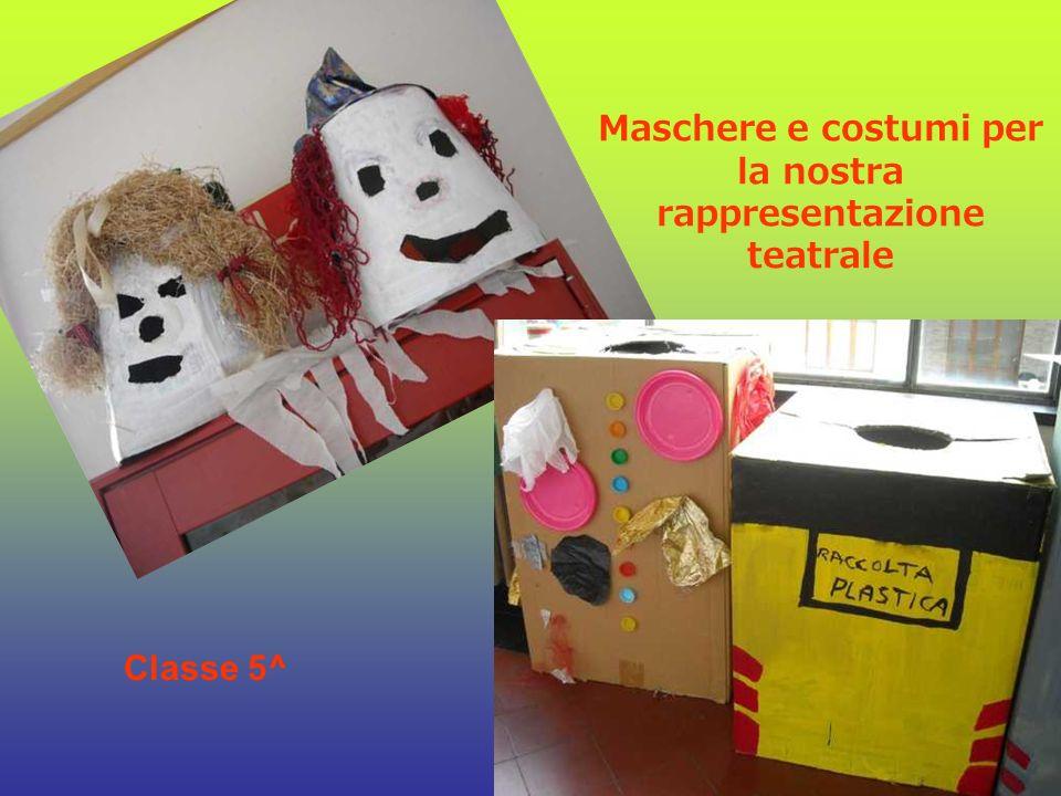 Maschere e costumi per la nostra rappresentazione teatrale
