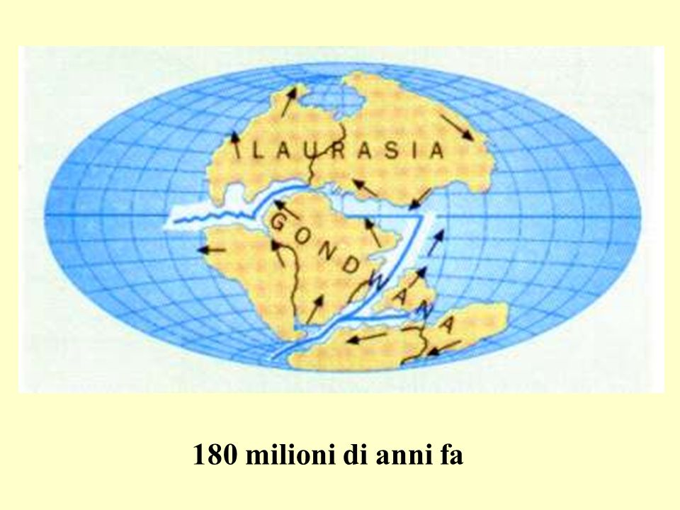 180 milioni di anni fa