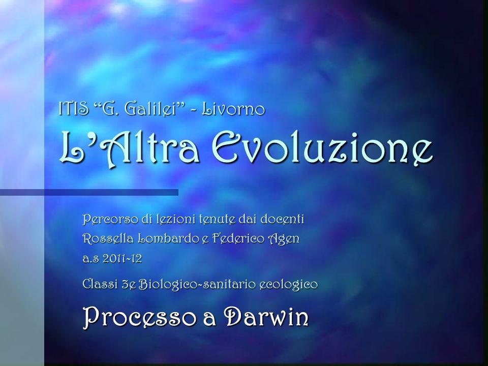 ITIS G. Galilei - Livorno L'Altra Evoluzione