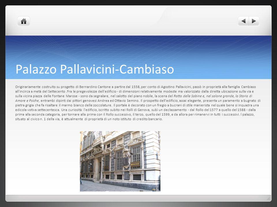 Palazzo Pallavicini-Cambiaso
