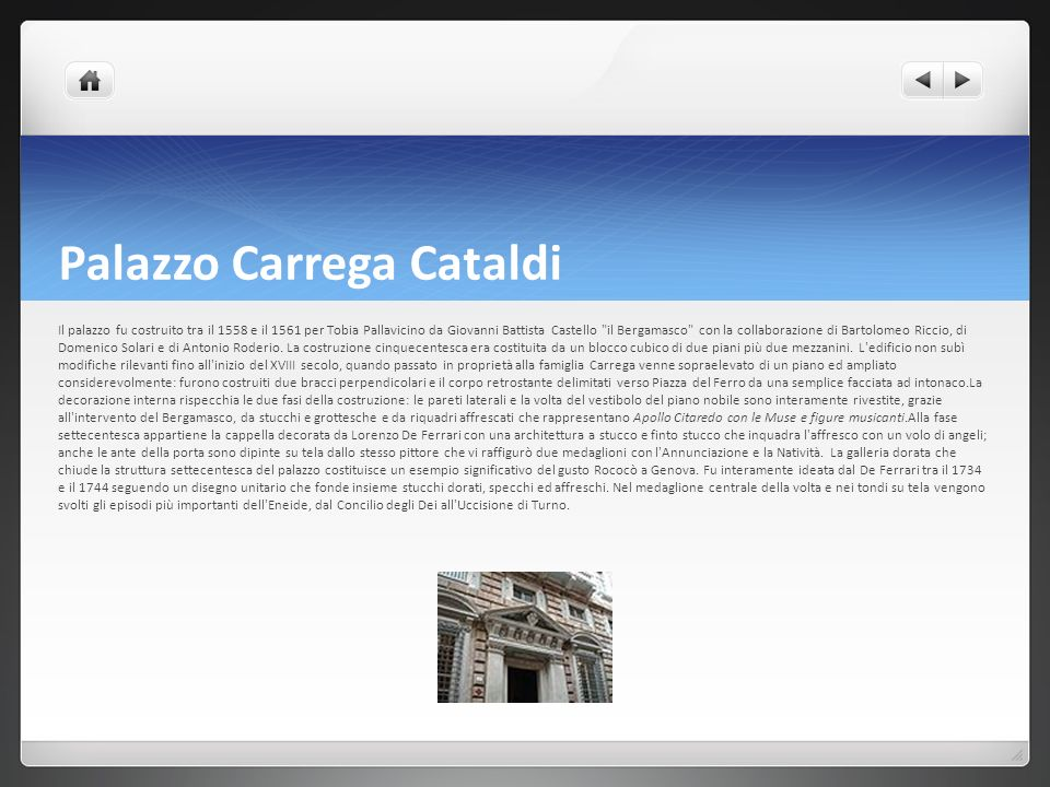 Palazzo Carrega Cataldi