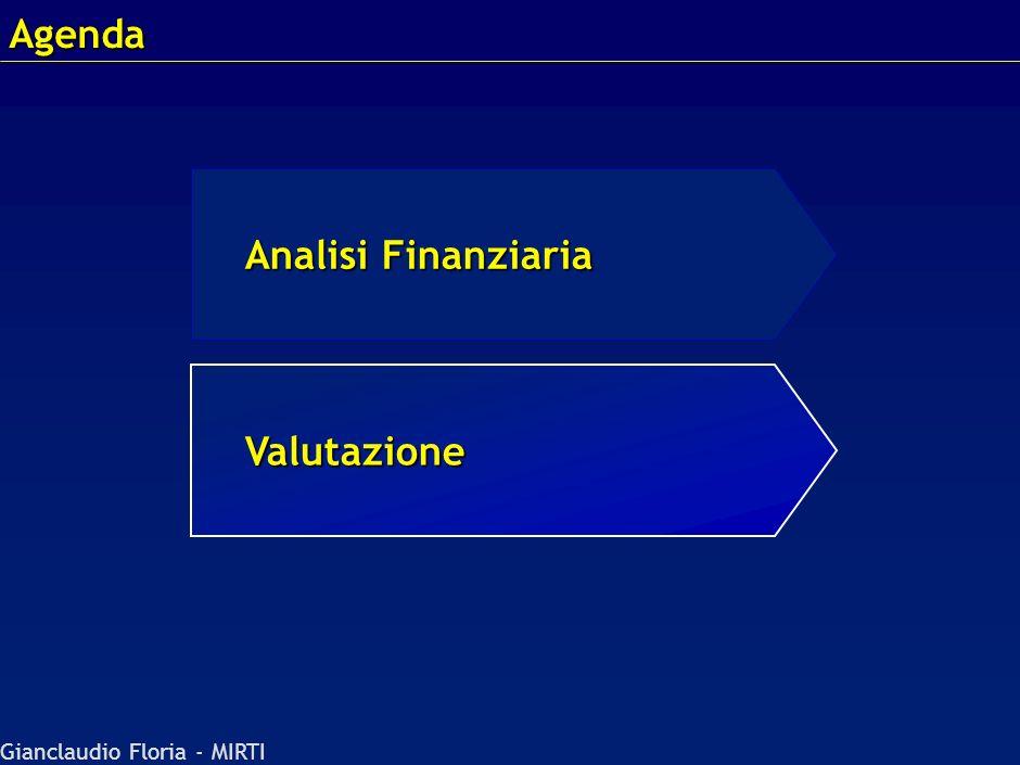 Agenda 20.18 - 250200 - 23069/MBUmm Analisi Finanziaria Valutazione
