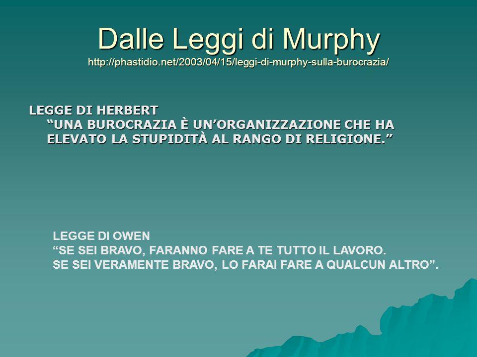 Dalle Leggi di Murphy http://phastidio
