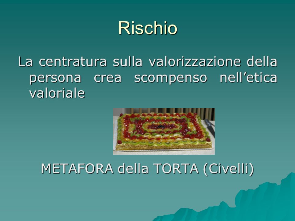 METAFORA della TORTA (Civelli)
