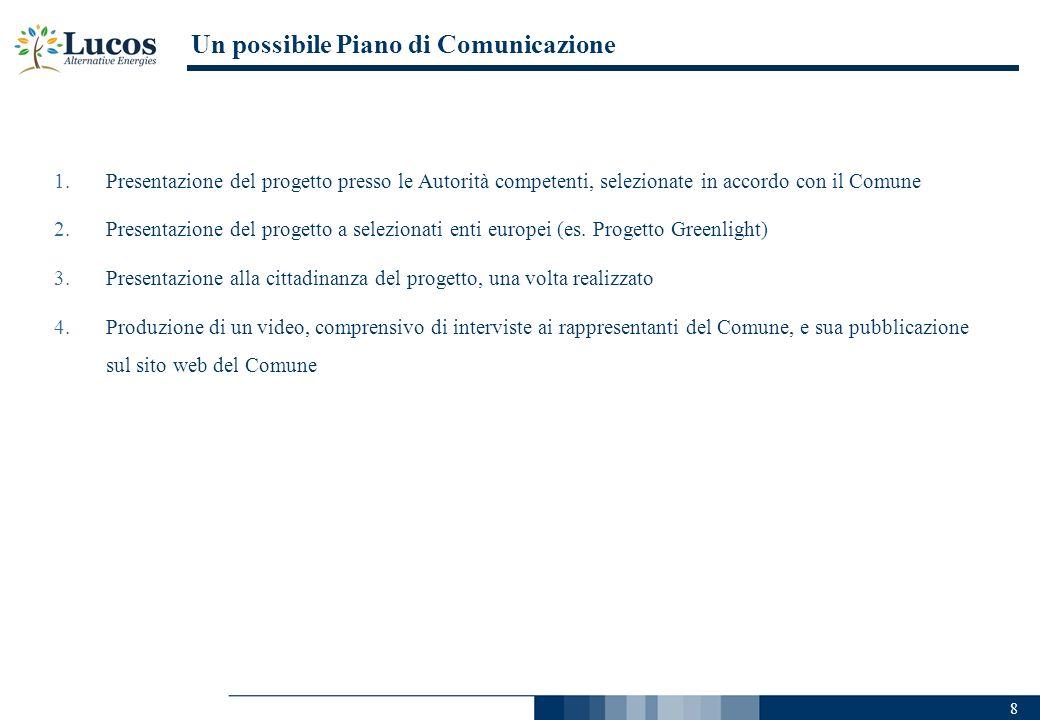 Un possibile Piano di Comunicazione