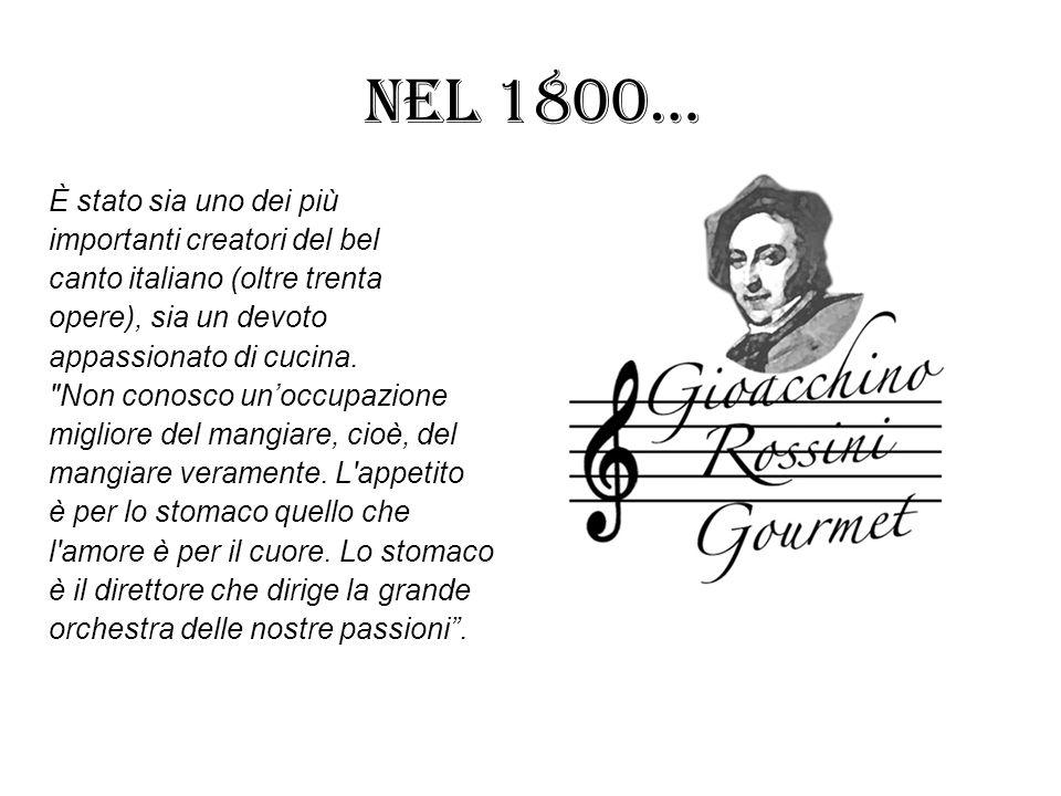 Nel 1800… È stato sia uno dei più importanti creatori del bel