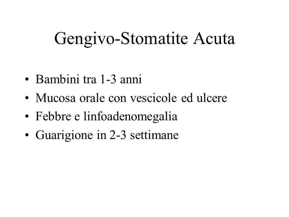 Gengivo-Stomatite Acuta