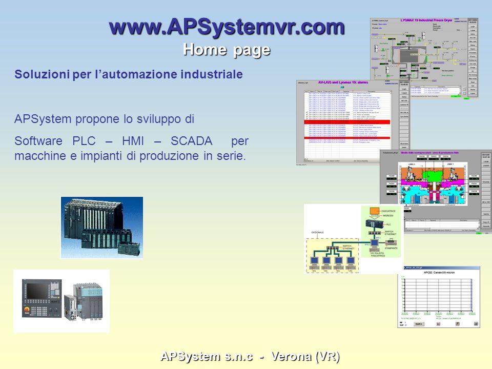 APSystem s.n.c - Verona (VR)