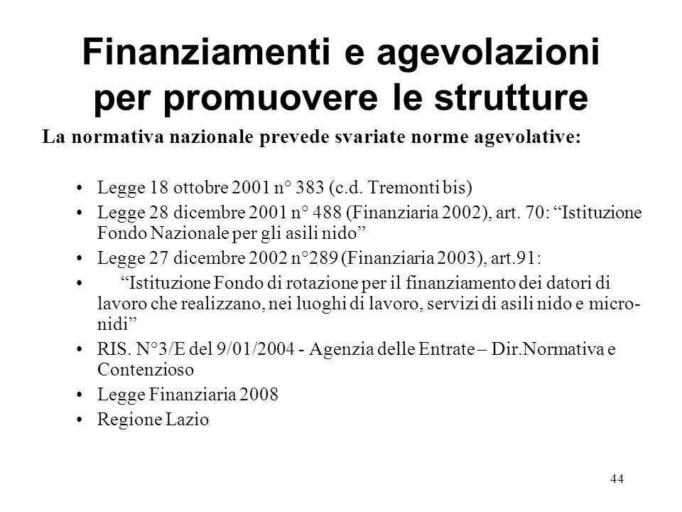 Finanziamenti e agevolazioni per promuovere le strutture
