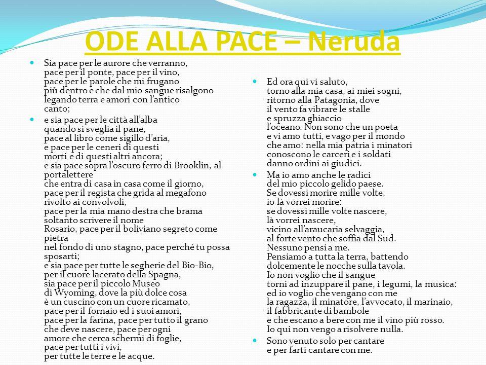 ODE ALLA PACE – Neruda