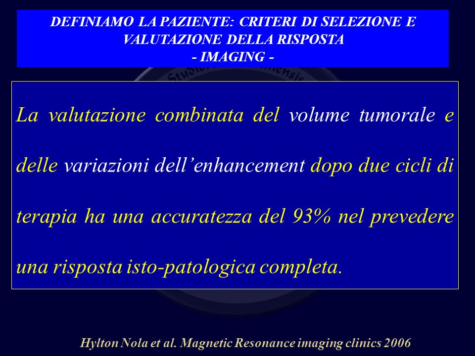 Hylton Nola et al. Magnetic Resonance imaging clinics 2006