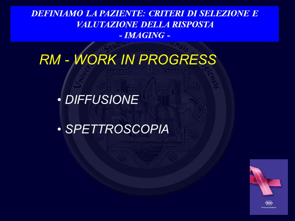 RM - WORK IN PROGRESS DIFFUSIONE SPETTROSCOPIA