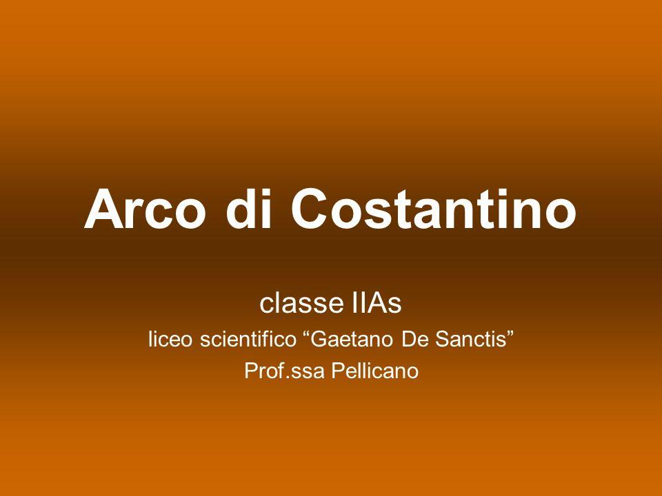 classe IIAs liceo scientifico Gaetano De Sanctis Prof.ssa Pellicano
