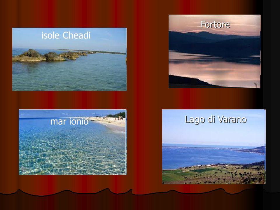 Fortore isole Cheadi Lago di Varano mar ionio