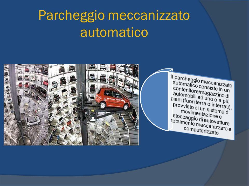 Parcheggio meccanizzato automatico