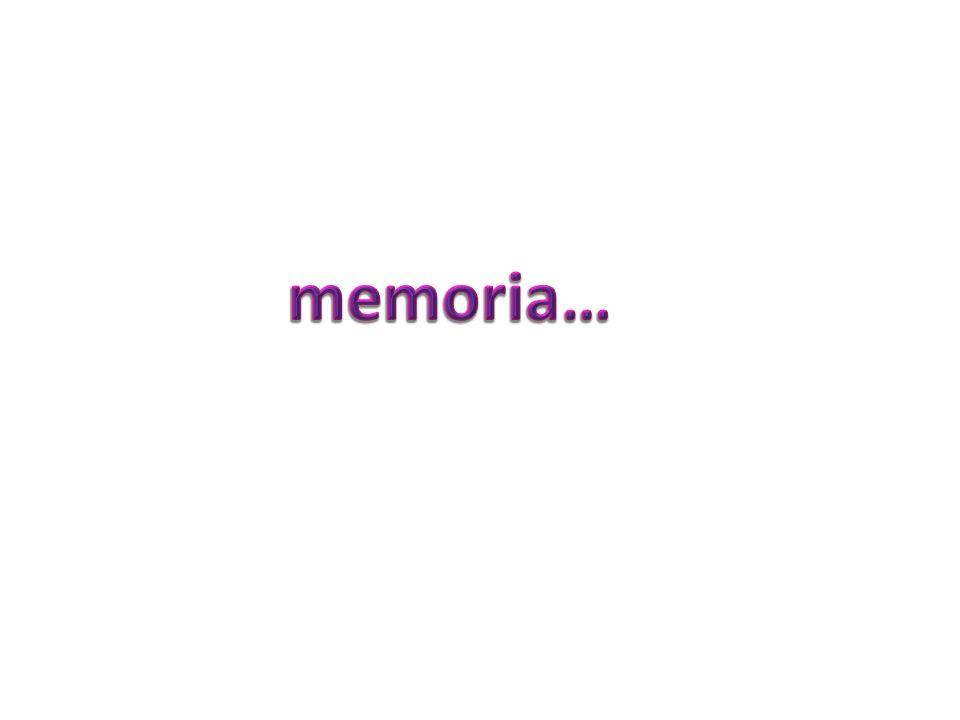 memoria…