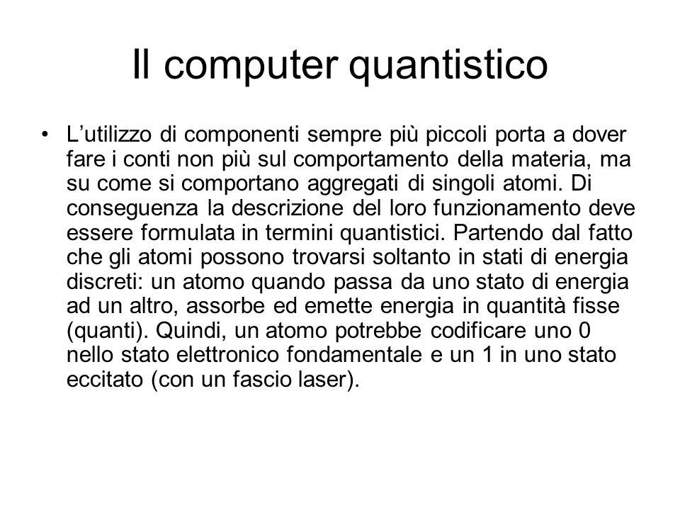 Il computer quantistico