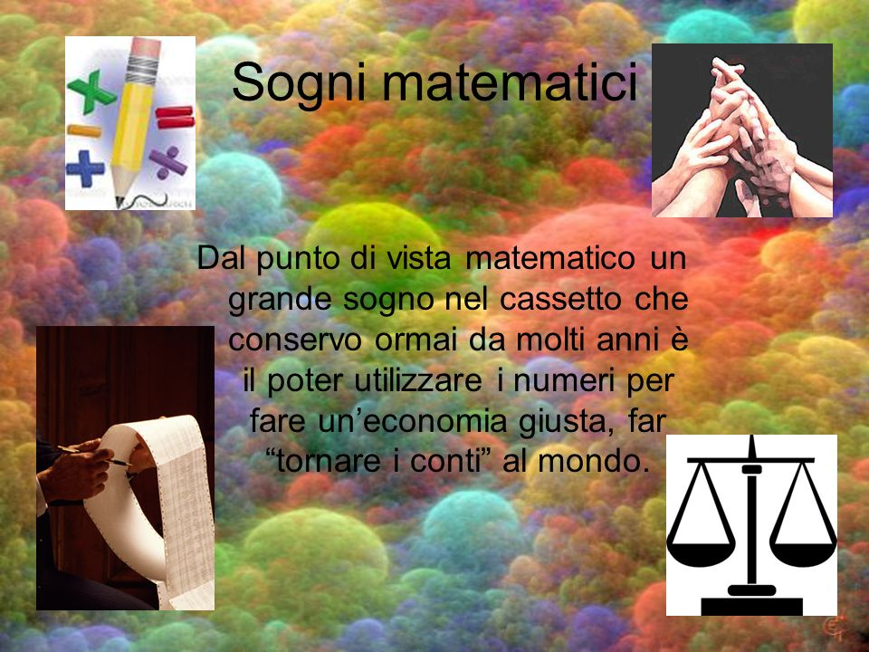 Sogni matematici
