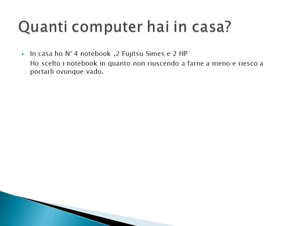 Quanti computer hai in casa