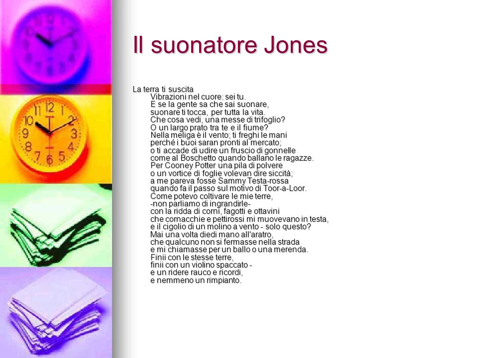 Il suonatore Jones