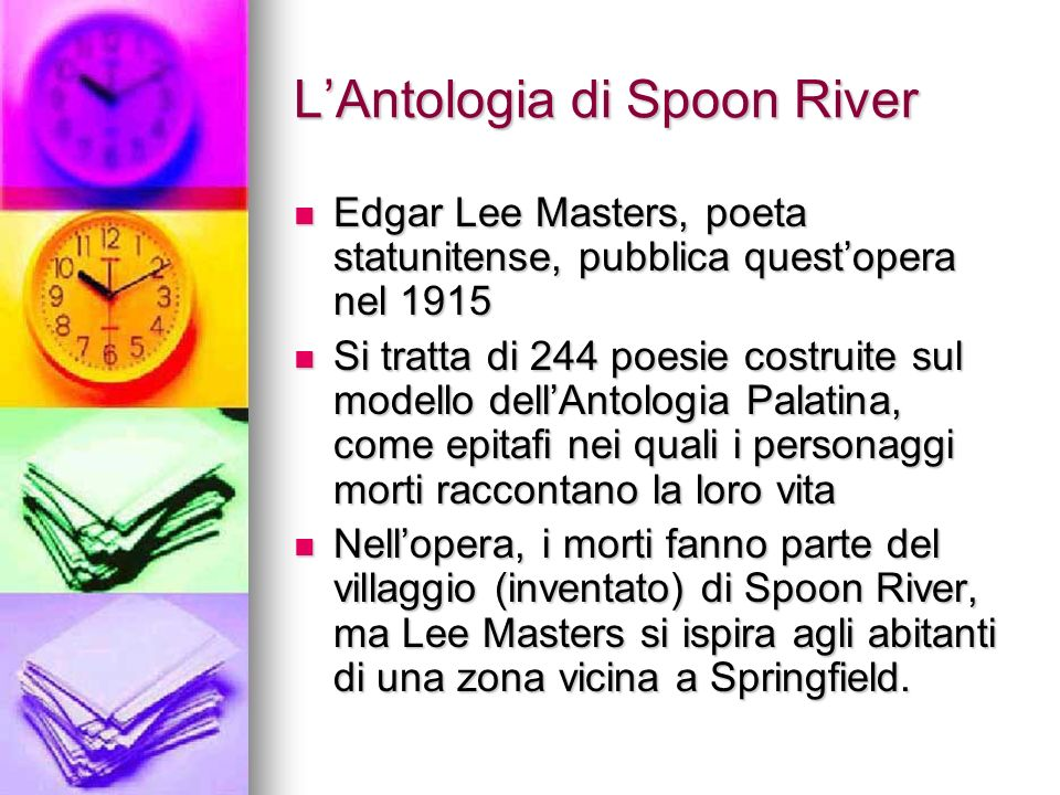 L'Antologia di Spoon River