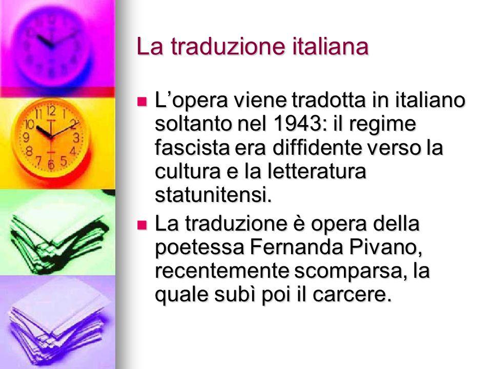 La traduzione italiana