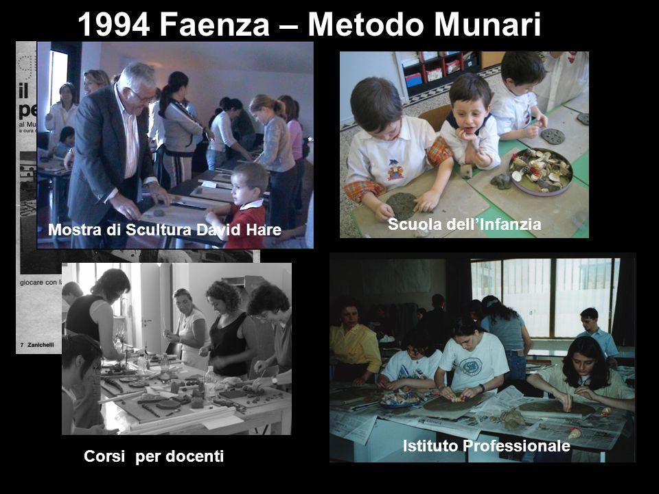 1994 Faenza – Metodo Munari Scuola dell'Infanzia