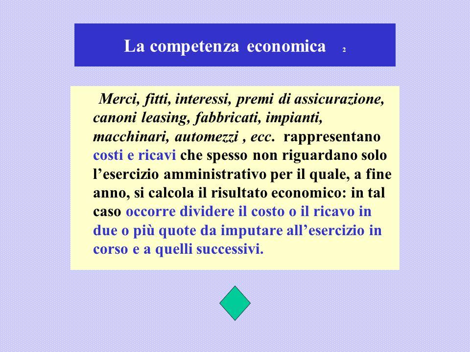 La competenza economica 2
