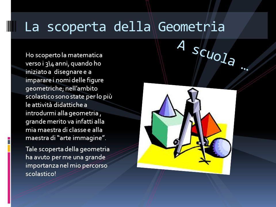 La scoperta della Geometria
