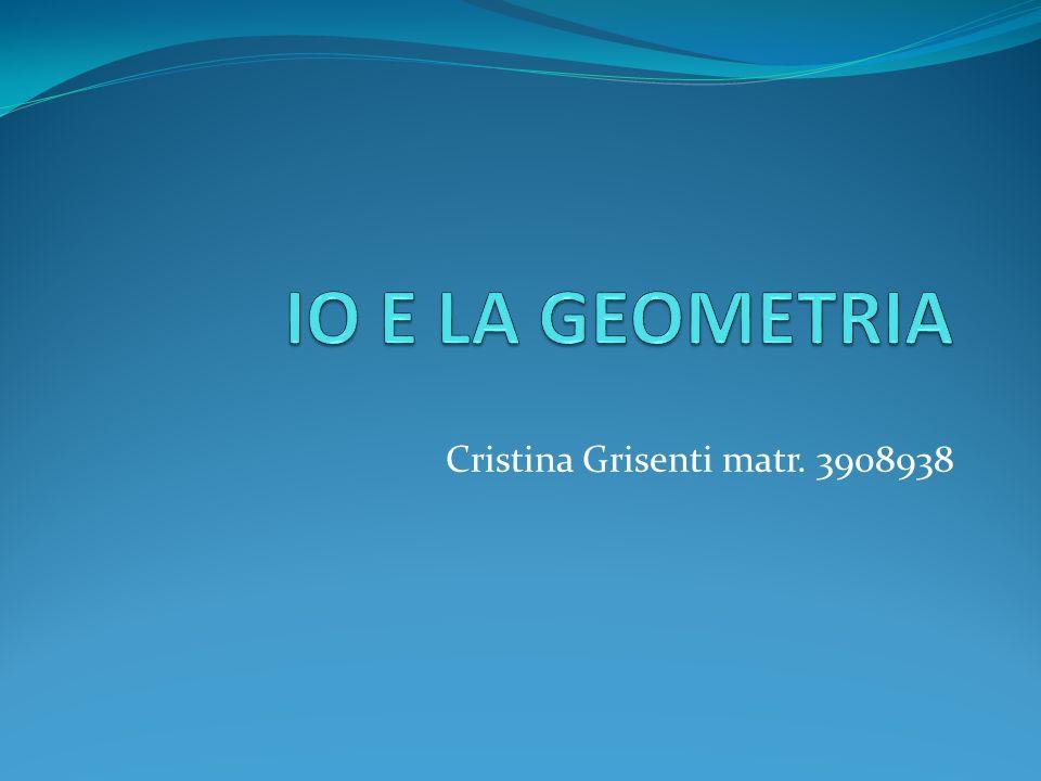 Cristina Grisenti matr. 3908938