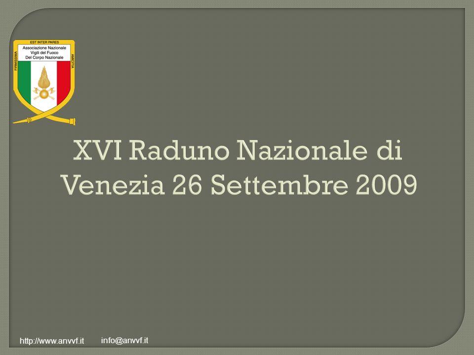 XVI Raduno Nazionale di Venezia 26 Settembre 2009