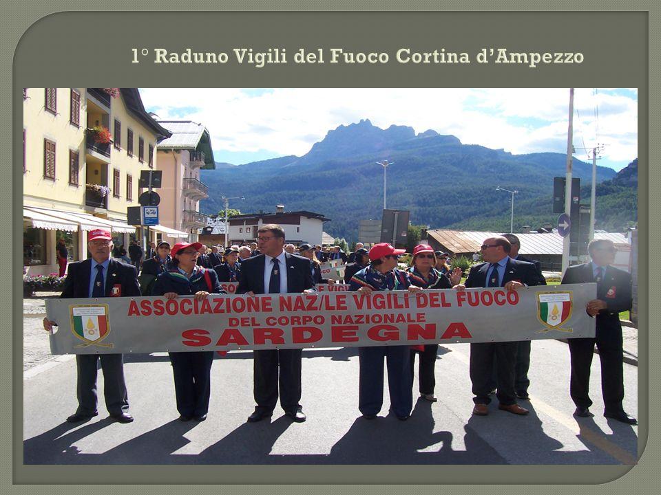 1° Raduno Vigili del Fuoco Cortina d'Ampezzo