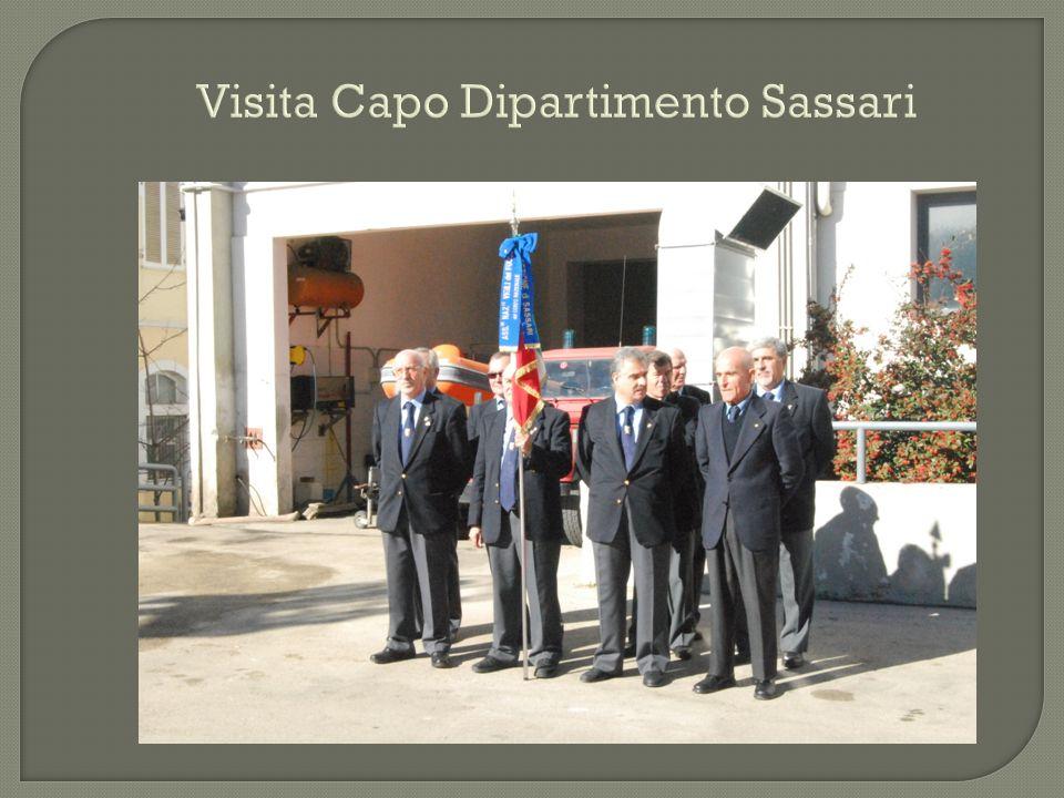 Visita Capo Dipartimento Sassari