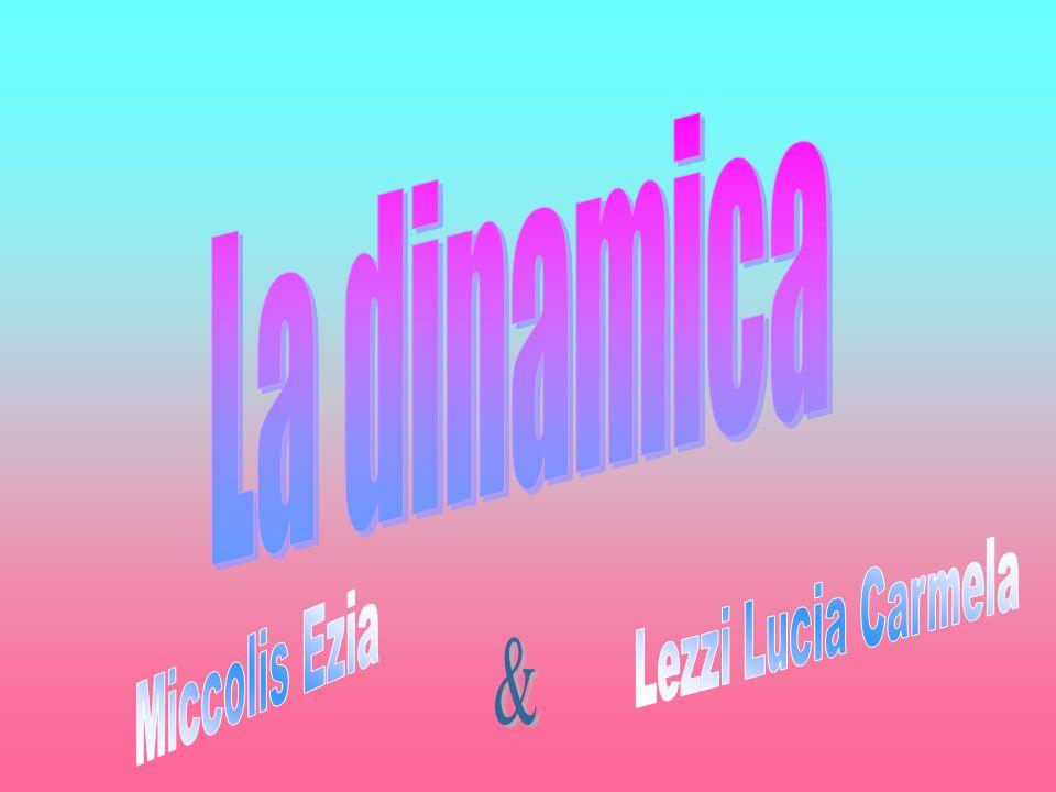La dinamica Lezzi Lucia Carmela Miccolis Ezia &