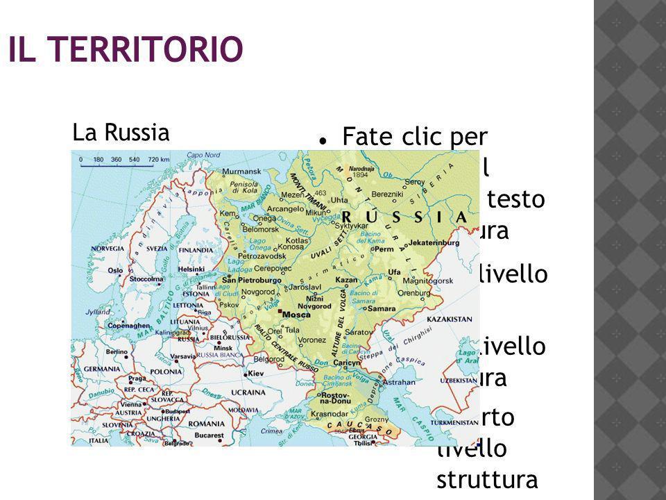 2 IL TERRITORIO La Russia