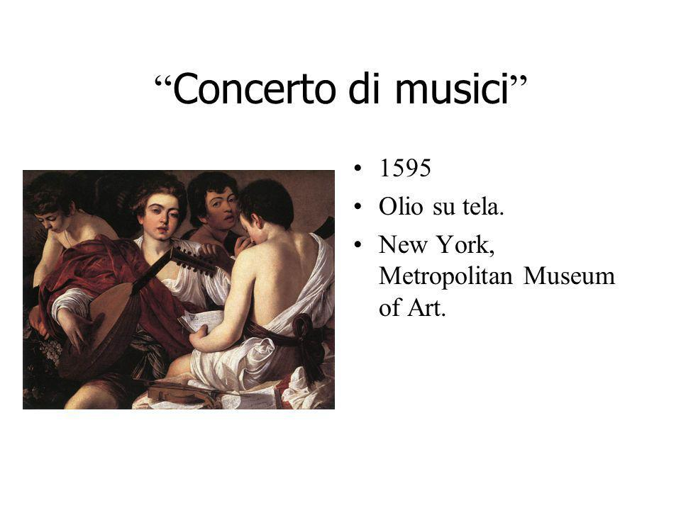Concerto di musici 1595 Olio su tela.