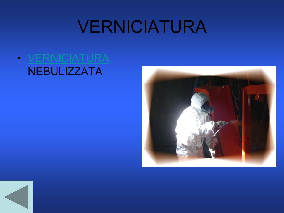VERNICIATURA VERNICIATURA NEBULIZZATA